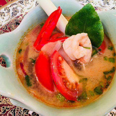 Tom Yum Prawn Soup