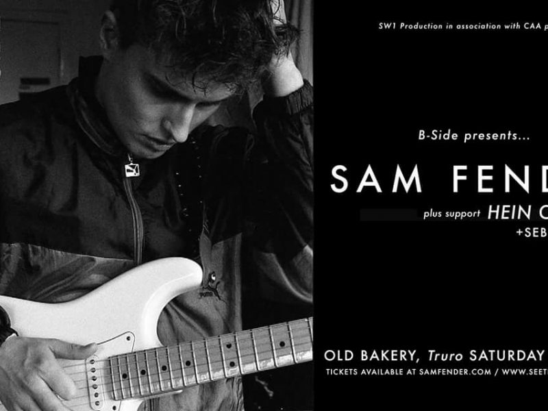 Old Bakery Studios wth Sam Fender & The Rezner