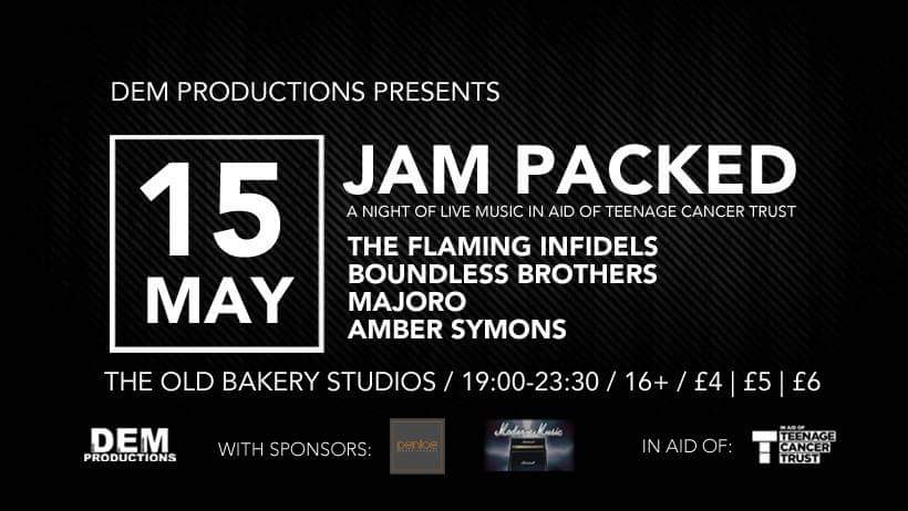 Old Bakery Studios Jam Packed Event in Aid of Teenage Cancer Trust