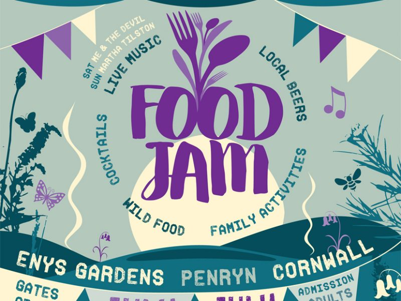 Food Jam 2018 at Enys Gardens