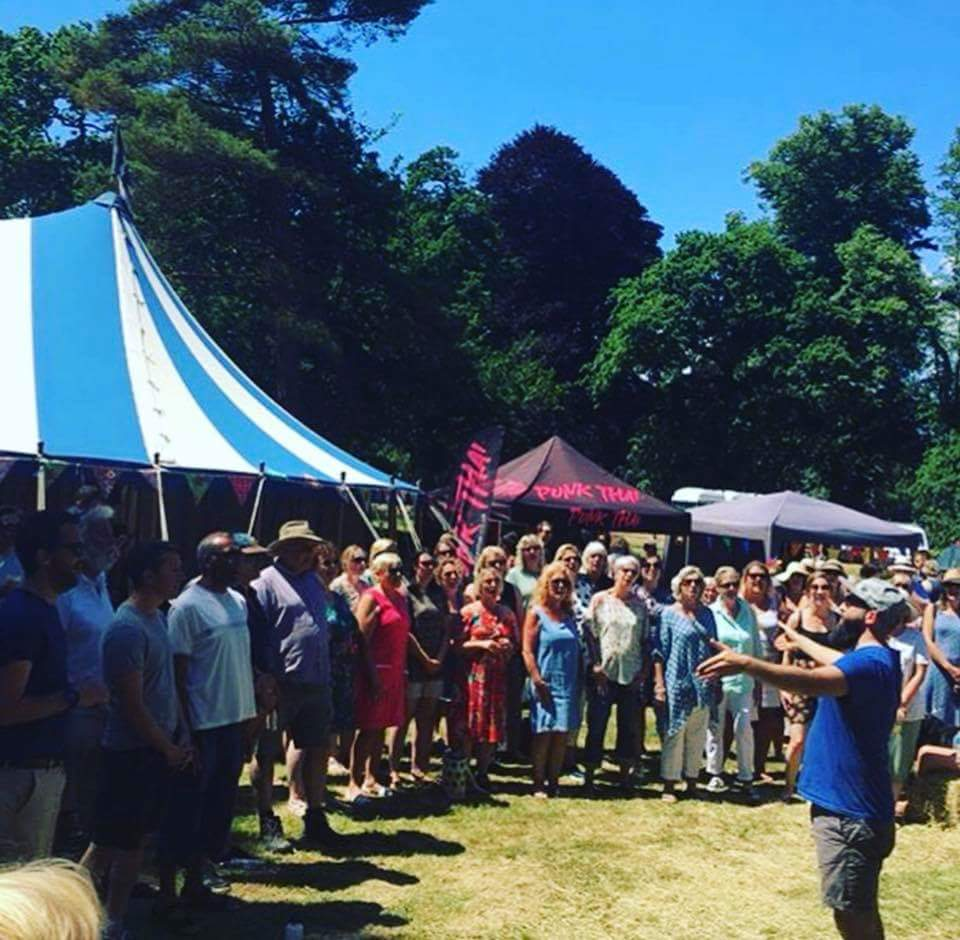 Food Jam 2019 at Enys Gardens