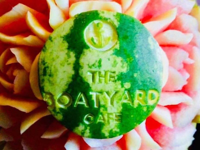 Great evening The Boatyard Cafe