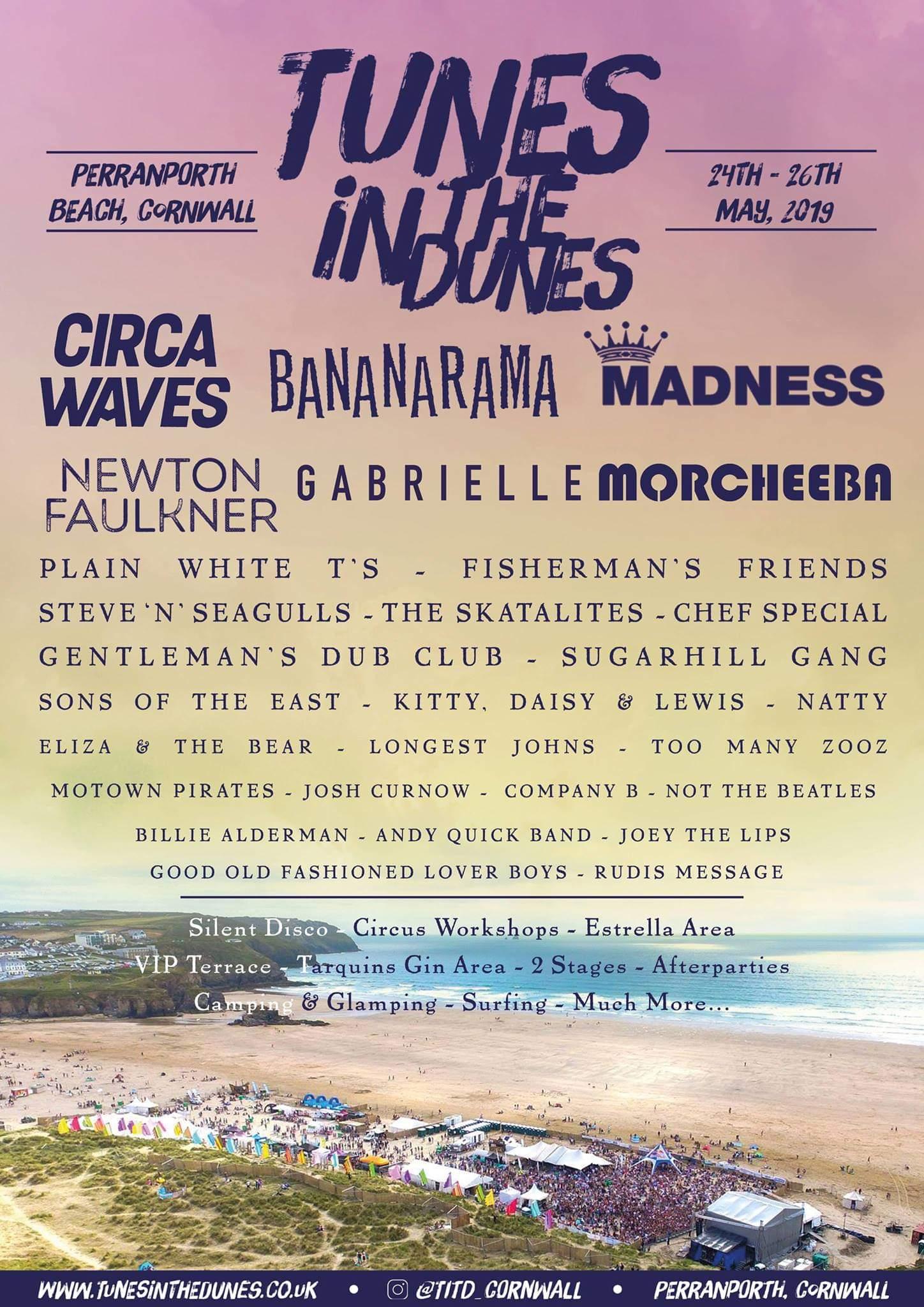 Tunes in the Dunes 2019