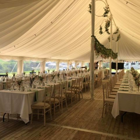 Mylor Wedding Marquee