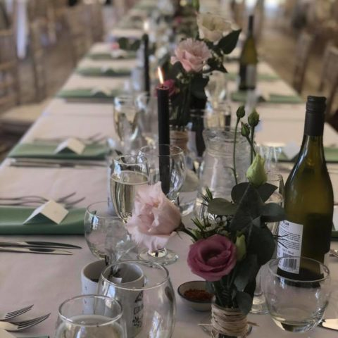 Mylor Wedding table