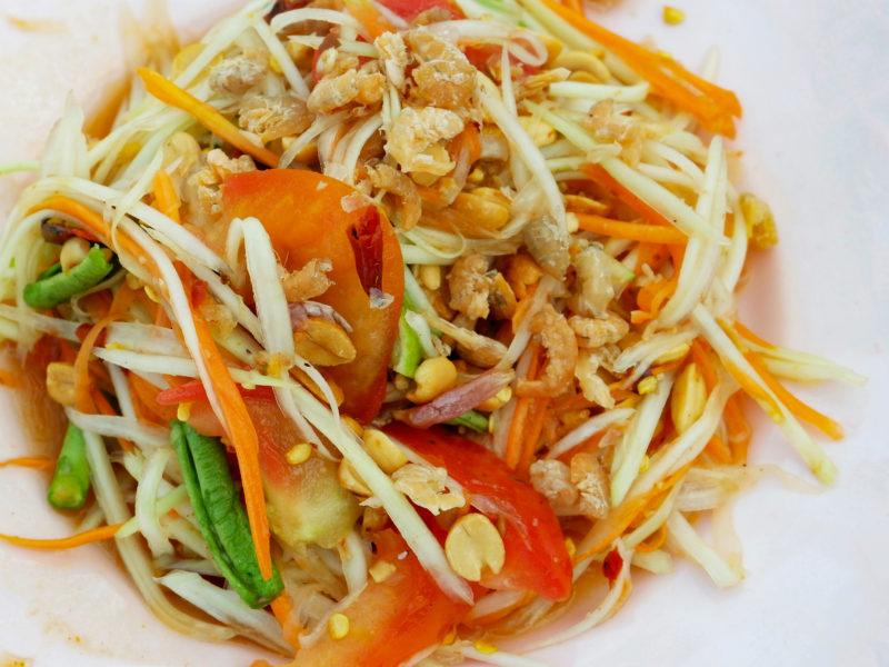 Papaya Salad Som Yum