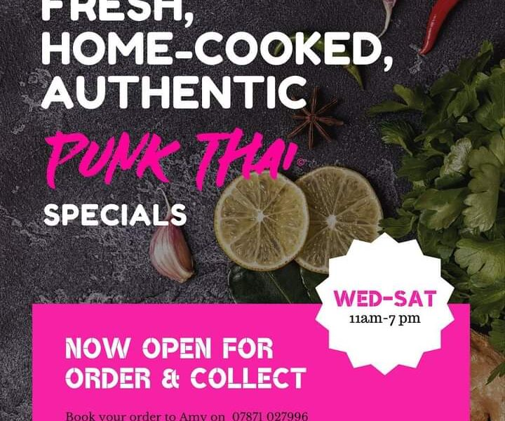 Punk Thai Order & Collect Menu