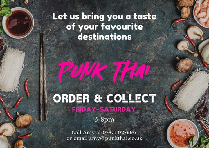 Punk Thai Walk In/Order & Collect Service